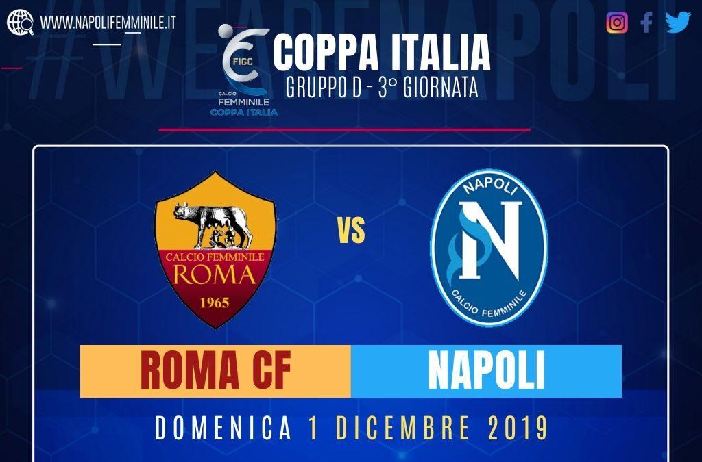 Anteprima Roma CF – Napoli Femminile