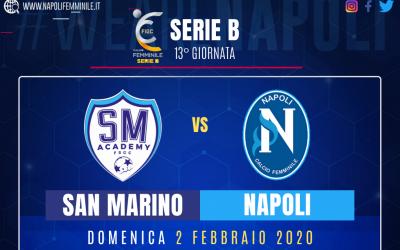 Anteprima San Marino Academy – Napoli Femminile