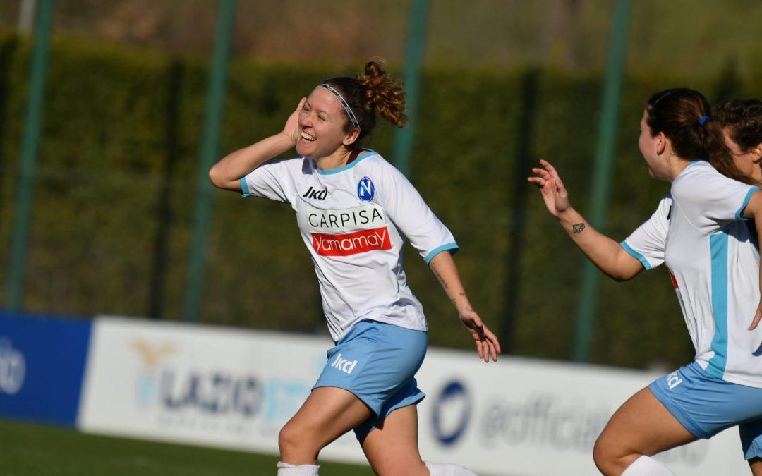 Lazio Women – Napoli Femminile 1-2
