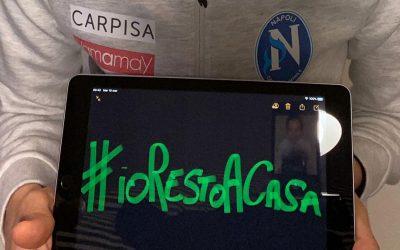 Allenamenti sospesi, #iorestoacasa