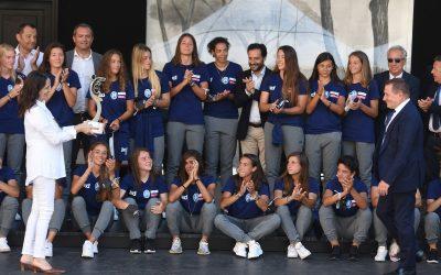 Presentato al Maschio Angioino il Napoli Femminile 2020/21