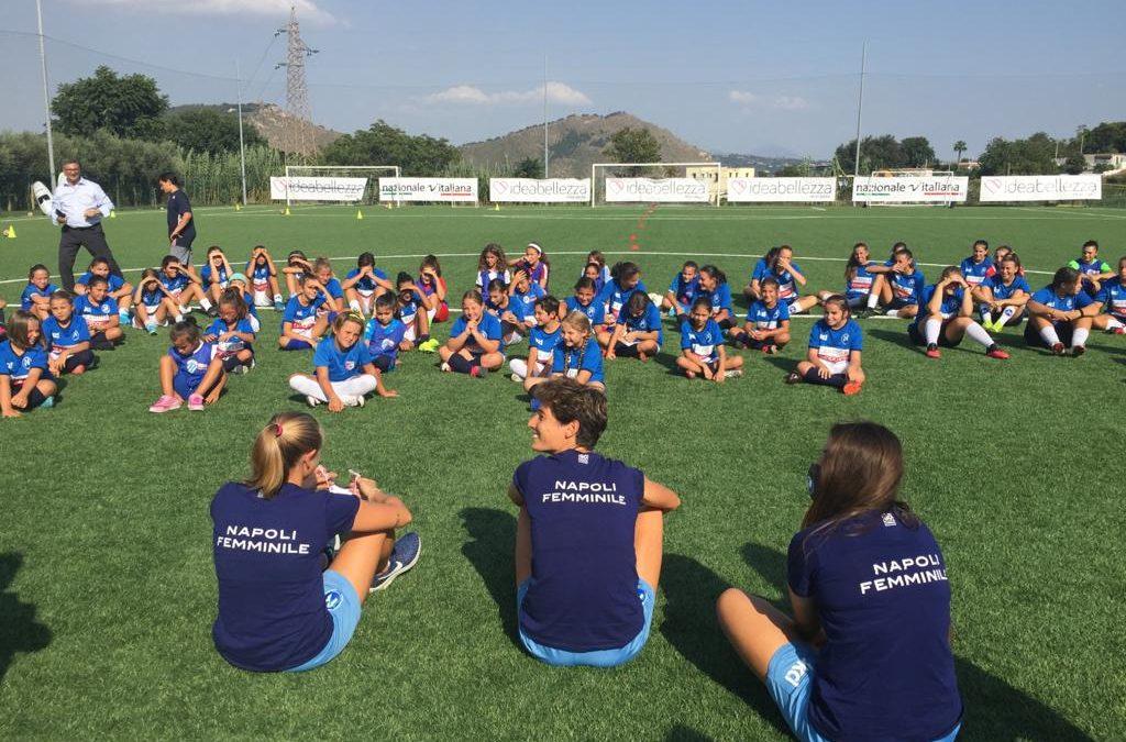 Il primo Open Day del settore giovanile del Napoli Femminile