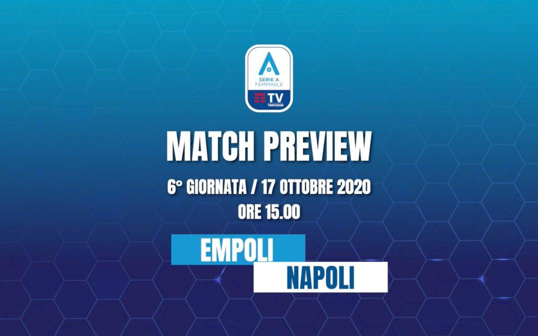 Match Preview • Empoli Ladies – Napoli Femminile