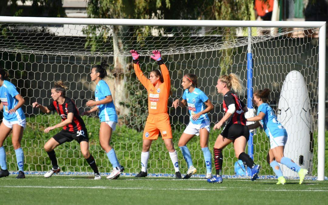 Napoli Femminile – Milan 1-2