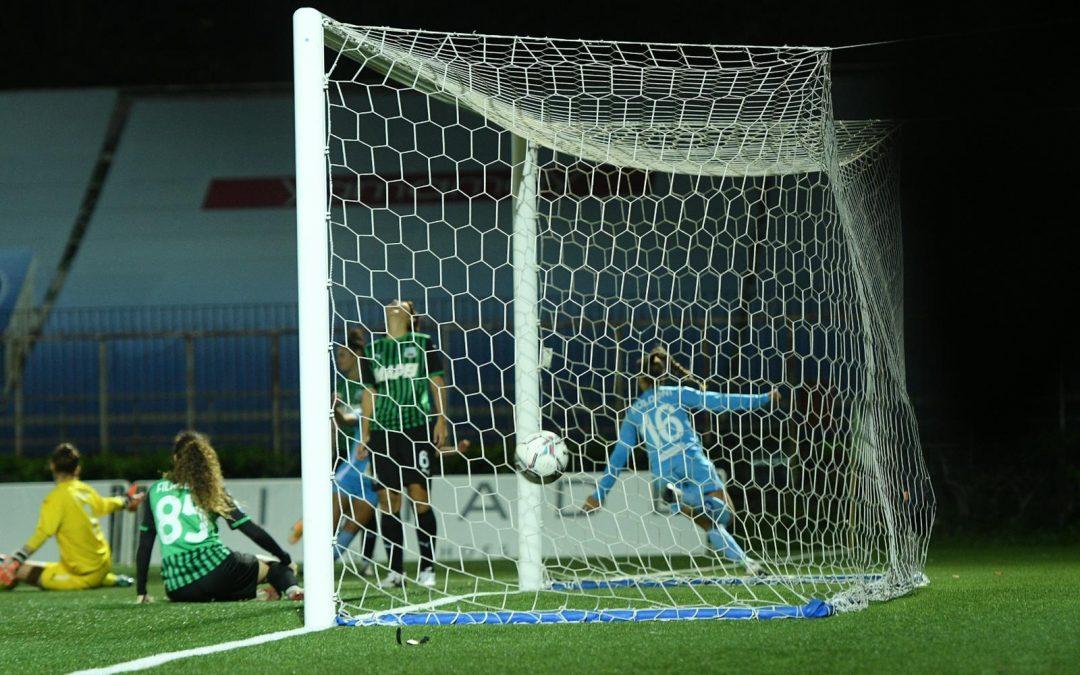 Napoli Femminile – Sassuolo 1-1