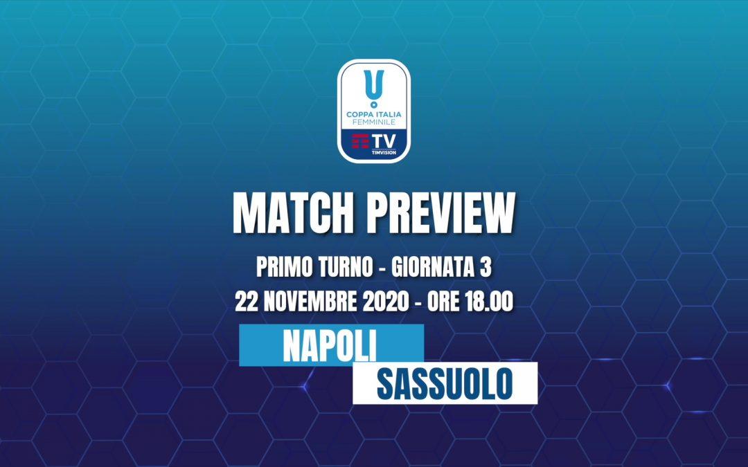 Match Preview • Napoli Femminile – Sassuolo