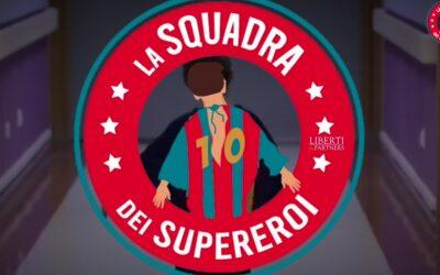 Il Napoli Femminile sostiene La Squadra dei Supereroi