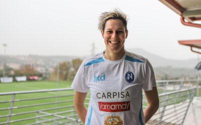 Sabrina Tasselli è una nuova giocatrice del Napoli Femminile