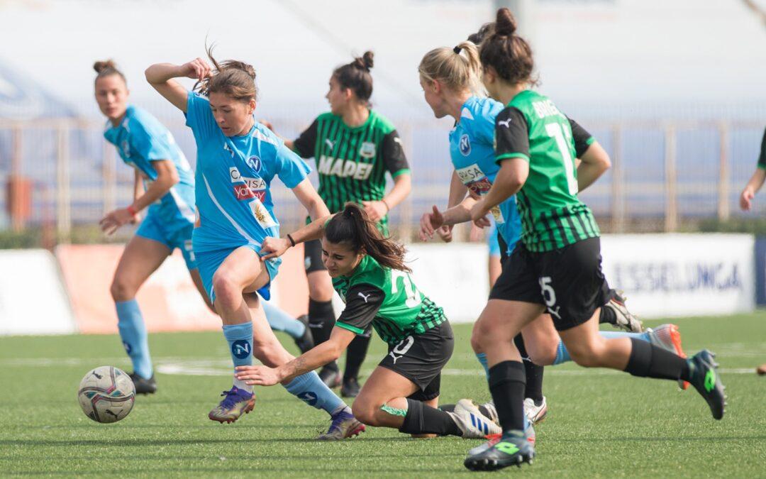 Napoli Femminile – Sassuolo 0-1