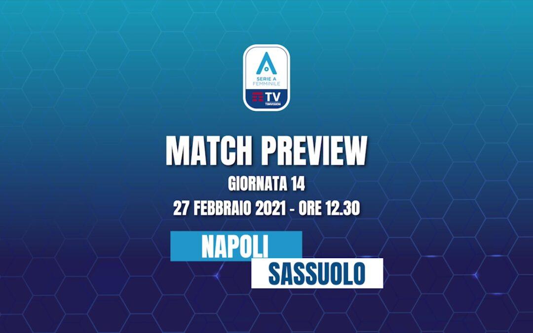 Napoli Femminile – Sassuolo | MATCH PREVIEW