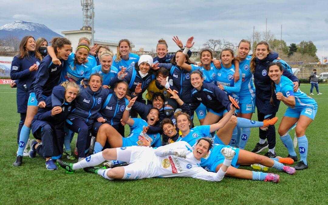 Napoli Femminile – Florentia San Gimignano 3-1