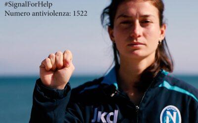 #SignalForHelp, il gesto per chiedere aiuto contro la violenza domestica