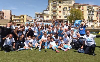 Napoli Femminile – AS Roma 2-2: #cuoreAzzurro ed è Serie A