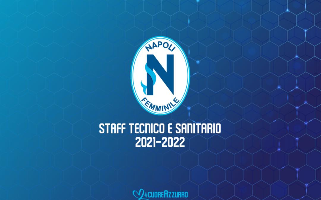 Lo staff tecnico e sanitario per la stagione 2021/2022