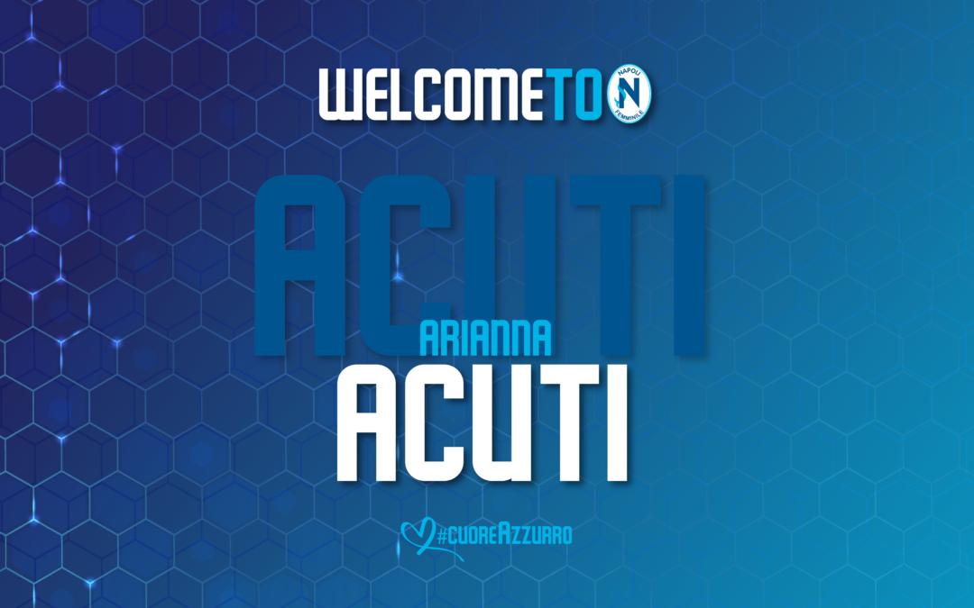 È Arianna Acuti il secondo innesto per la nuova stagione