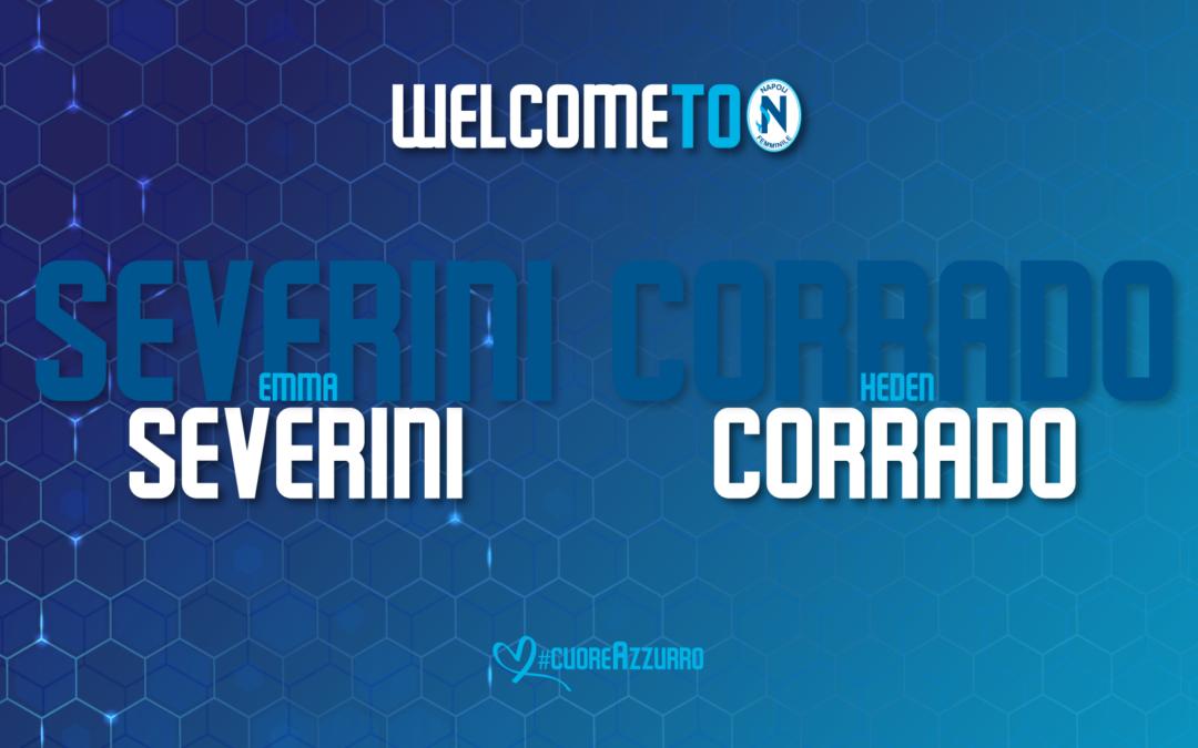 Dalla Roma in prestito Severini e Corrado