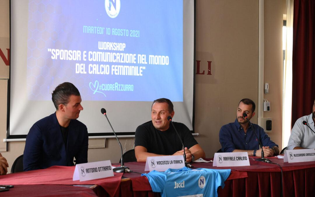 """Workshop """"Sponsor e comunicazione nel mondo del calcio femminile"""""""