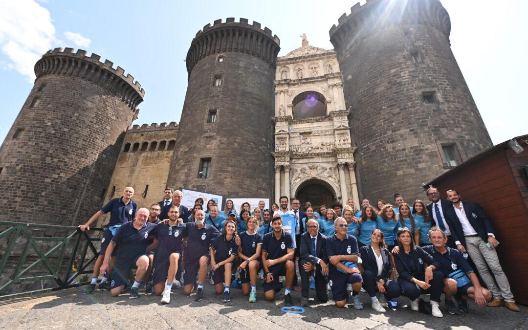"""Il Napoli Femminile presenta la squadra al Maschio Angioino. Carlino: """"Proveremo a stupire."""""""