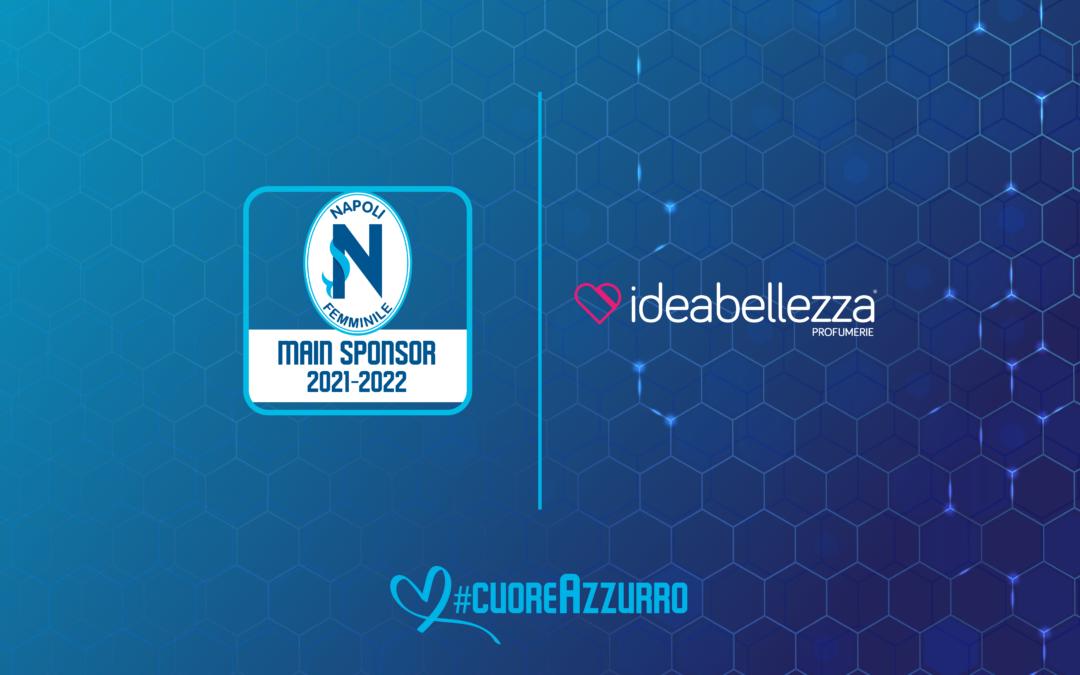 Idea Bellezza torna back jersey sponsor del Napoli Femminile