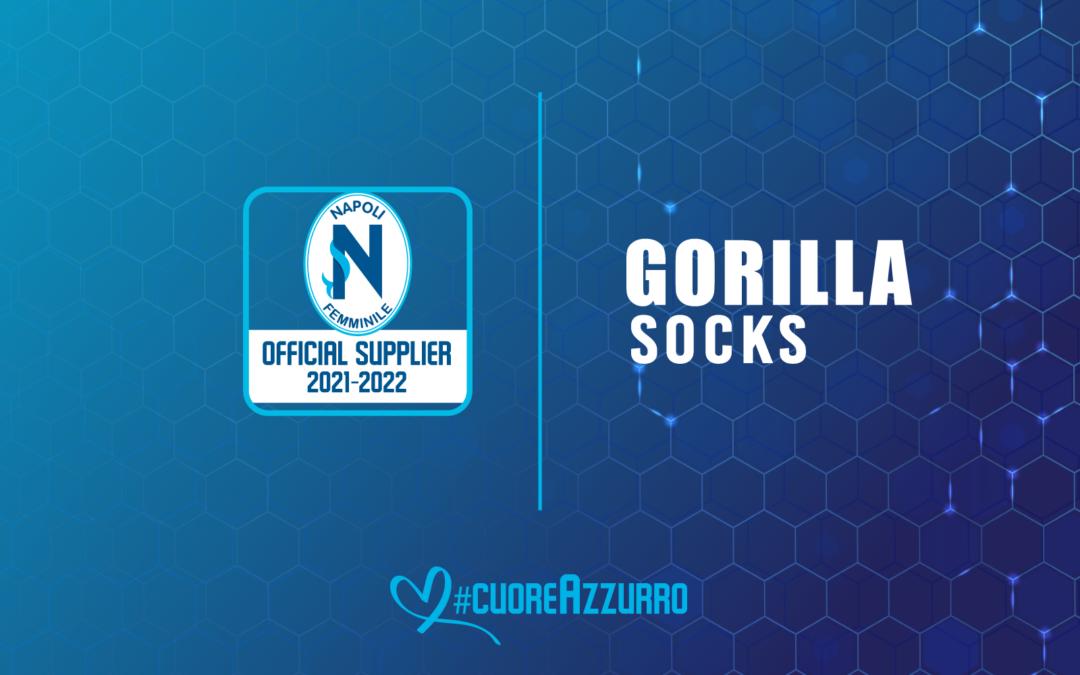Gorilla Socks al fianco del Napoli Femminile in questa stagione