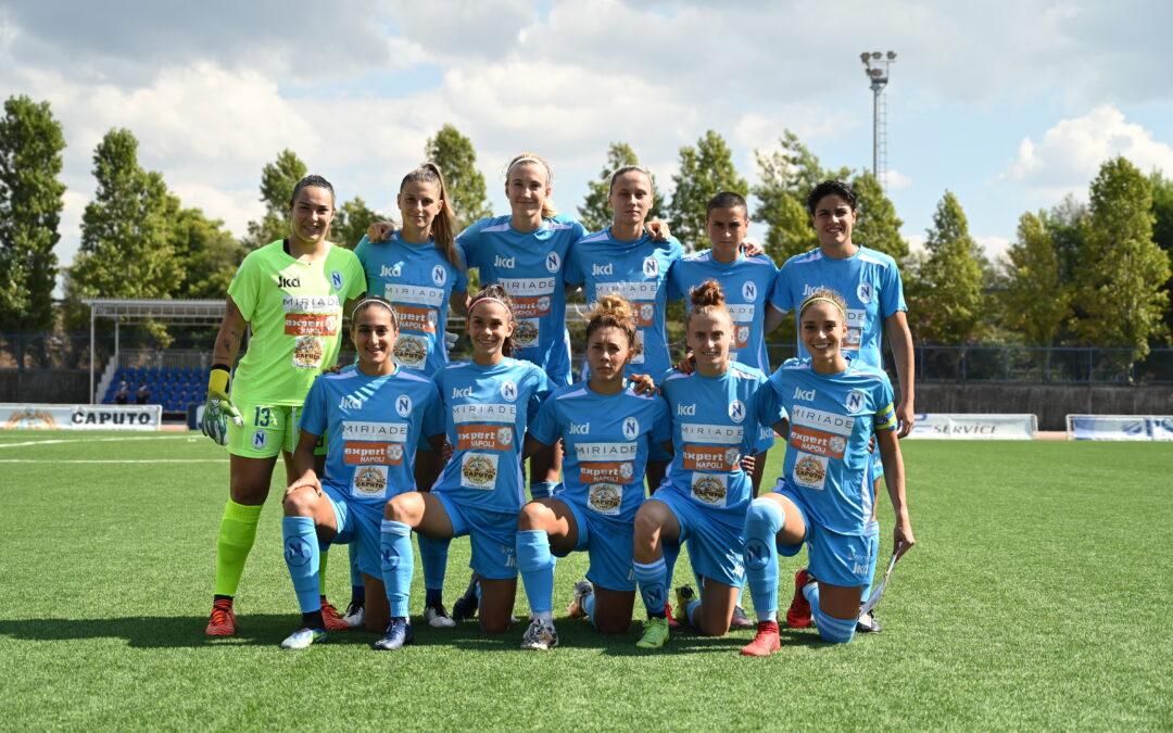 Napoli Femminile – AC Milan 0-1